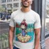 camiseta de dragon ball y mario bross fusion goku y mario
