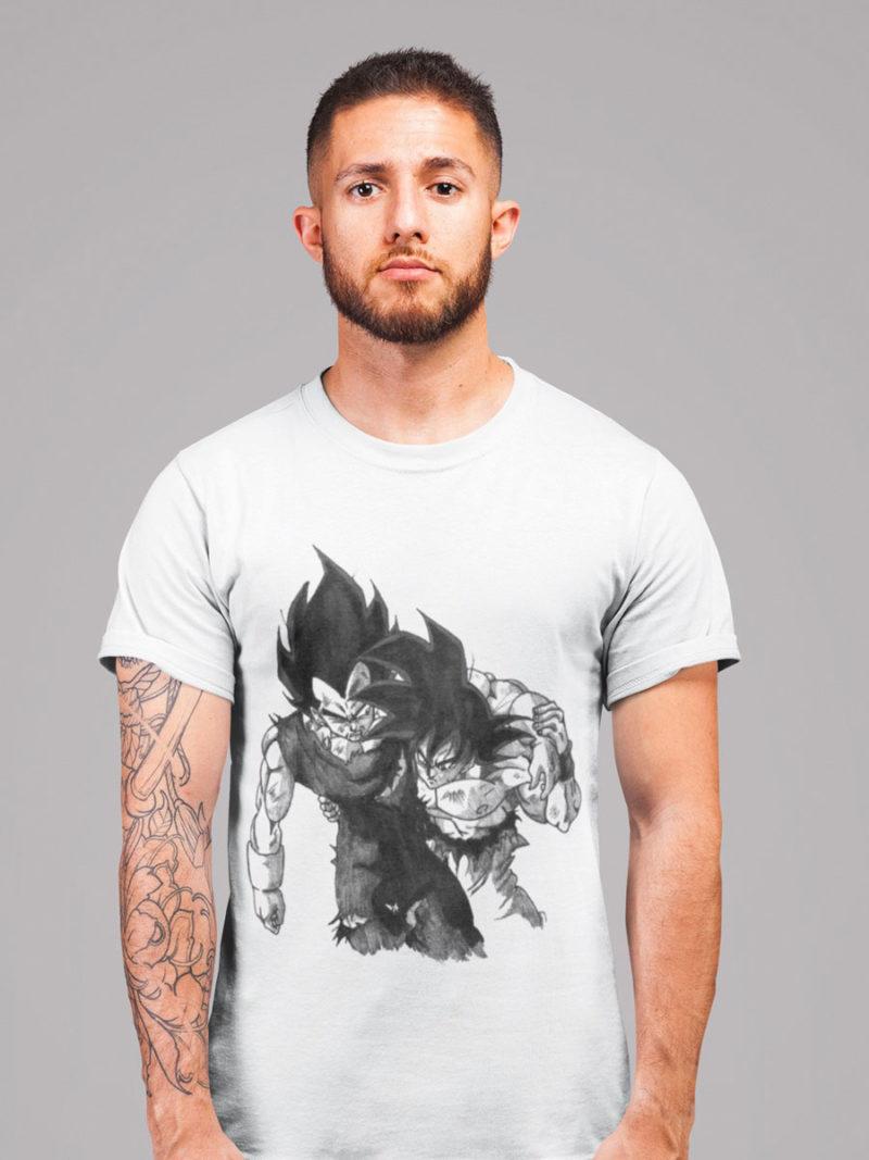 camiseta de goku y vegeta dragon ball