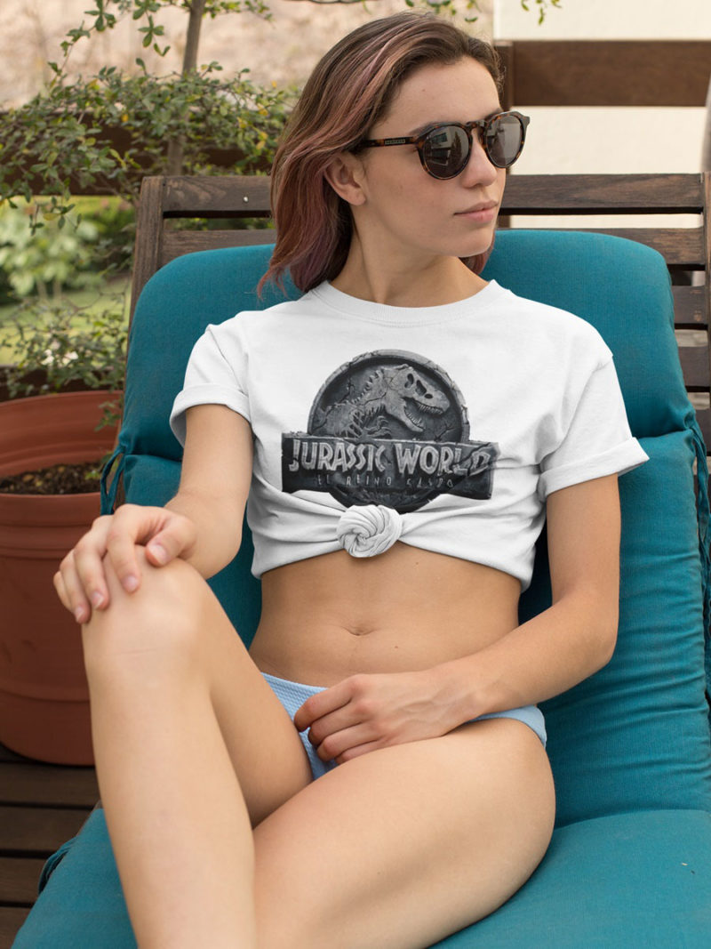 camiseta de jurassic world