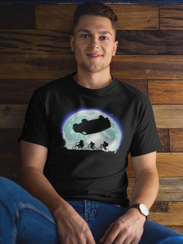 camiseta de stranger things autobus del reves adulto