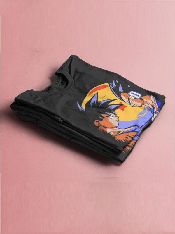 camiseta dragon ball goku vs vegeta
