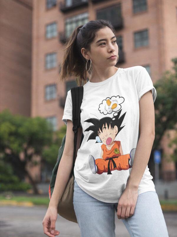 camiseta goku hambre dragon ball