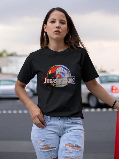 camiseta jurassic park 25 aniversario unisex