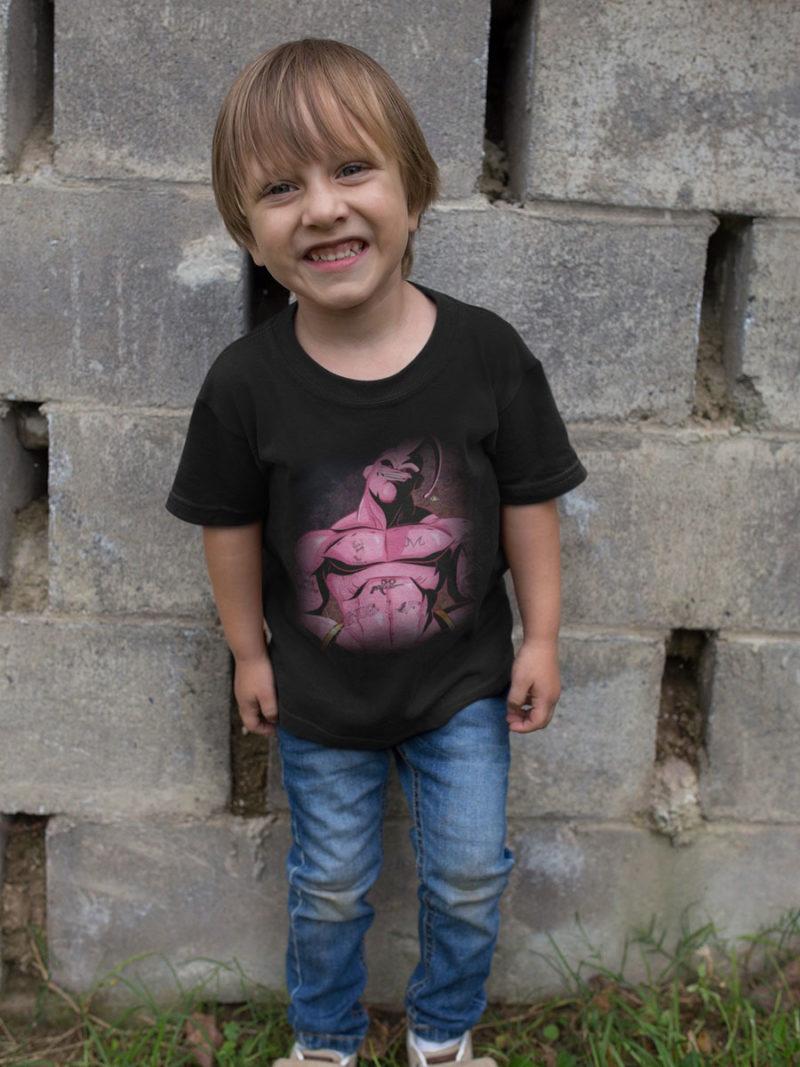 camiseta niño majin boo