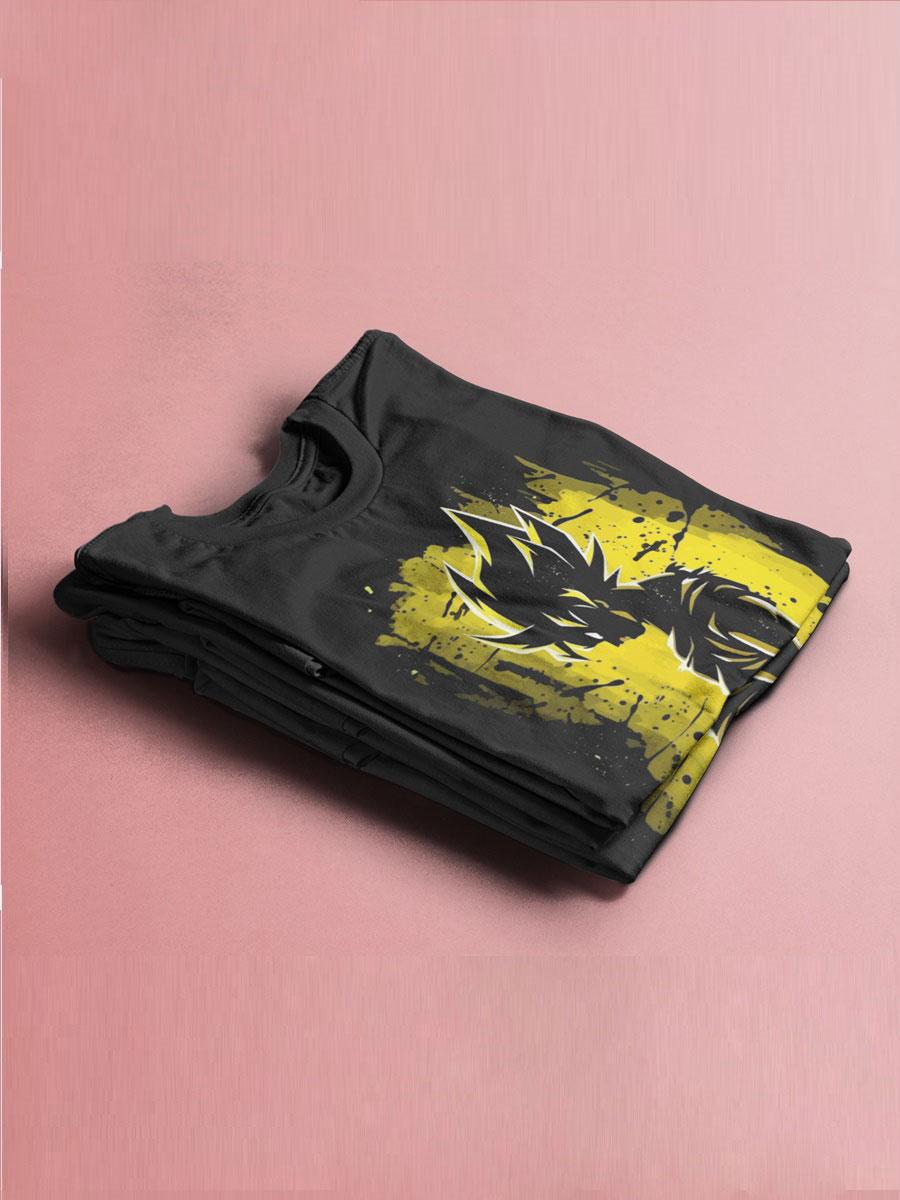 camiseta son goku el super saiyan legendario
