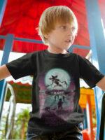 camiseta stranger things negra nino