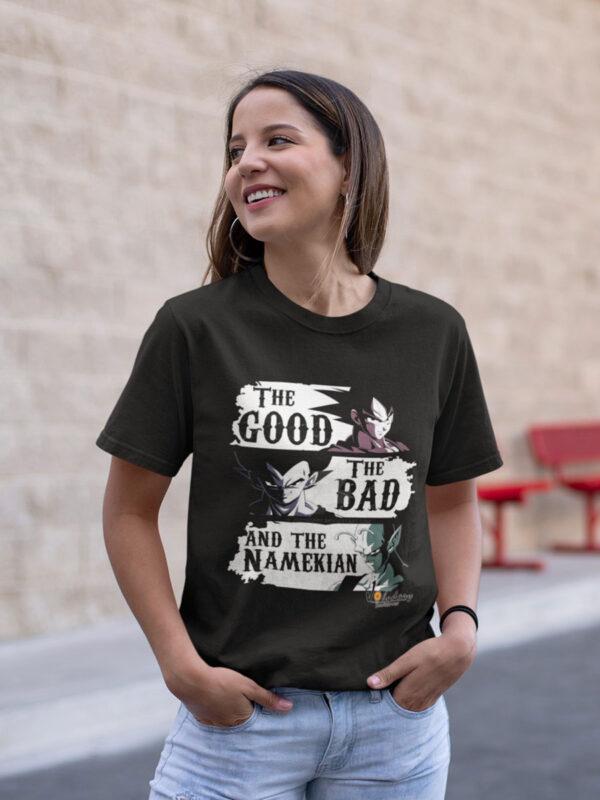 camiseta unisex dragon ball goku vegeta y picolo