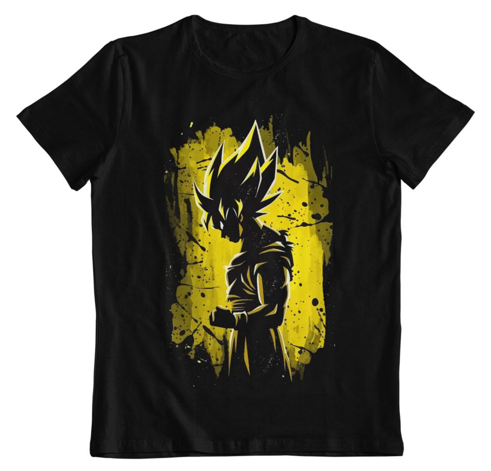 Camiseta Dragon Ball Z reflejo Saiyan