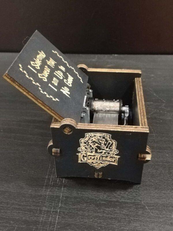 caja con melodia de harry potter