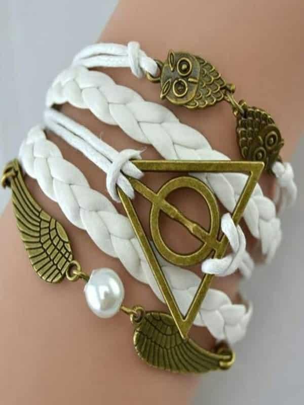 Pulsera Reliquias blanca