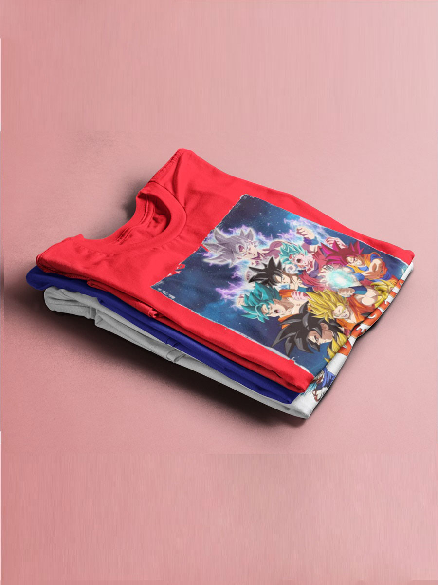 Camiseta Dragon Ball Super Goku