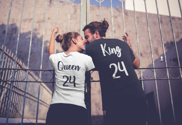 camisetas king y queen