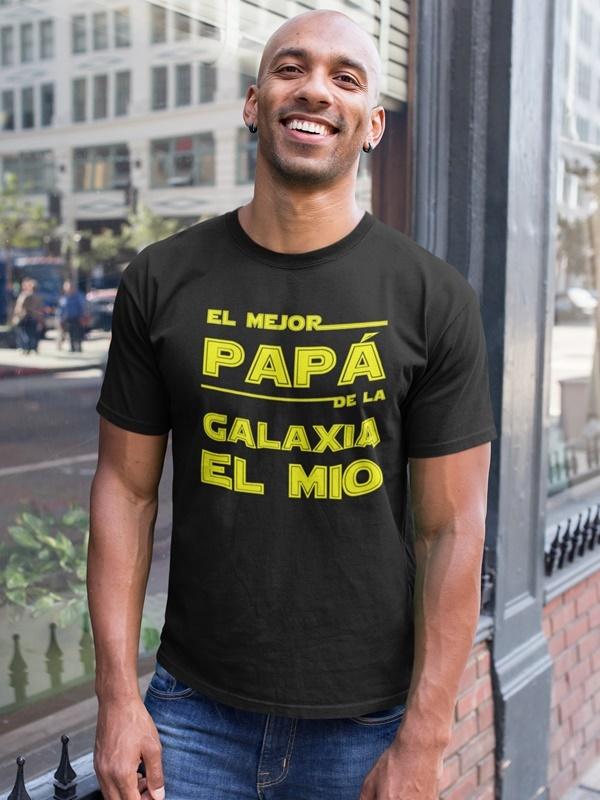 camiseta el mejor papa de la galaxia