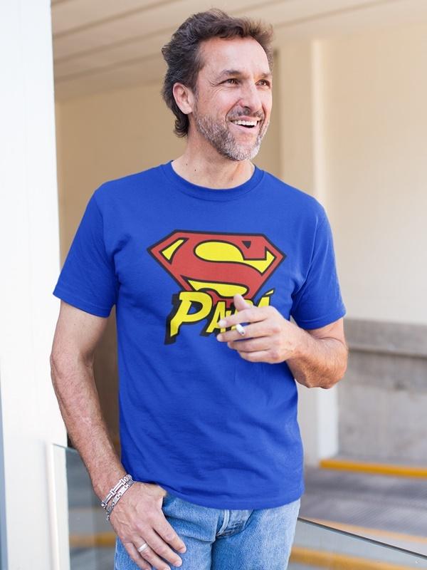 camiseta super papa