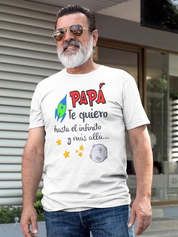 camisetas regalo dia del padre te quiero