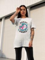camiseta dia de la madre mummy shark