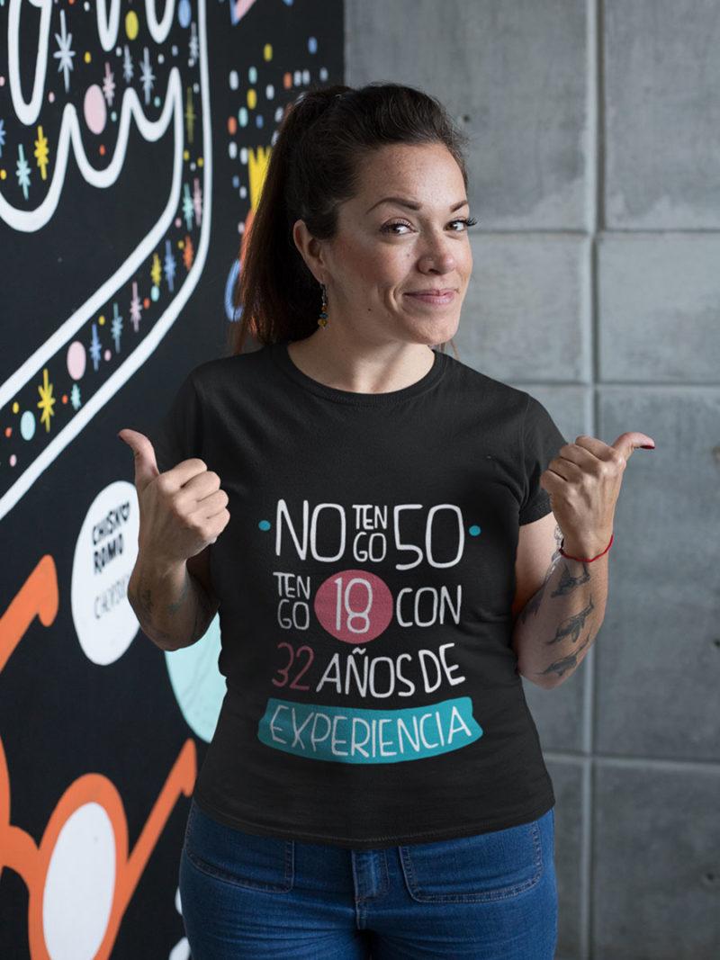 camiseta para el dia de la madre cincuenta años