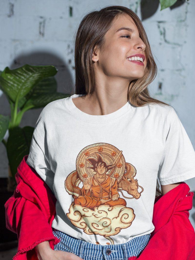 camiseta son goku unisex