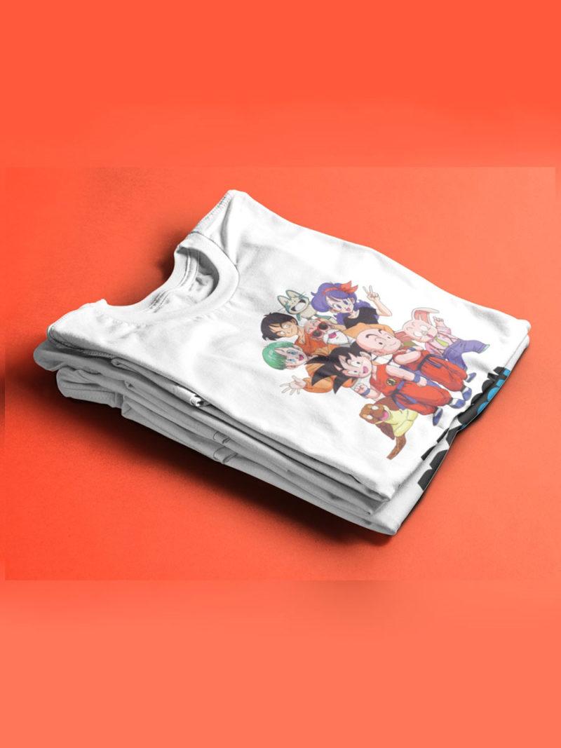 Camiseta Dragon Ball Goku y sus amigos