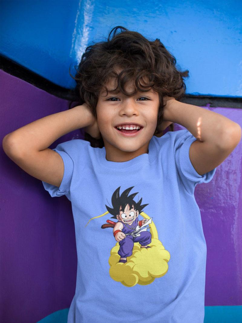 Camiseta Goku nube kinton