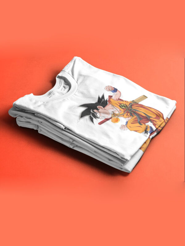 camiseta de goku