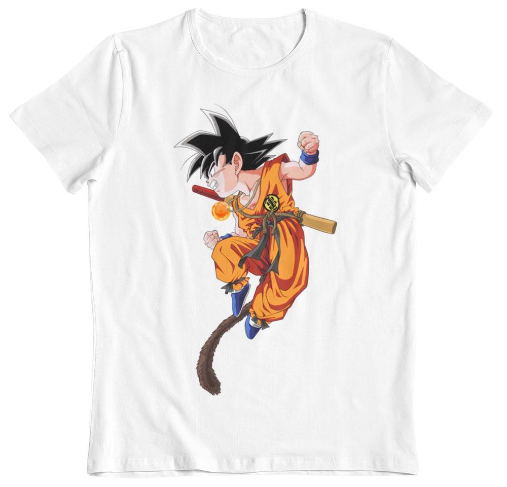 Camiseta Dragon Ball Son Goku attack