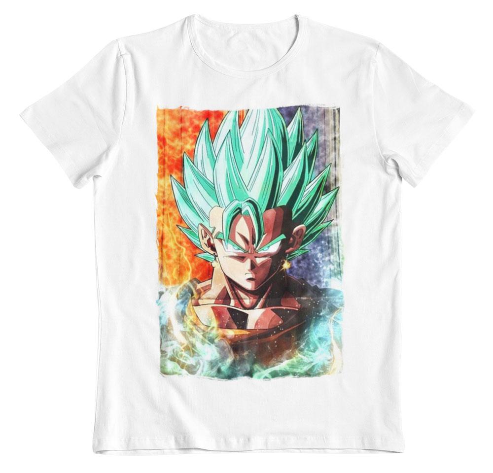 Camiseta Dragon Ball Vegetto blurred