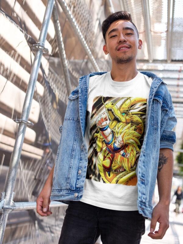 Camiseta Dragon Ball Z el ataque del dragón