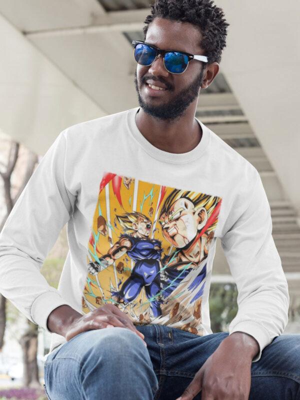 camiseta majin vegeta