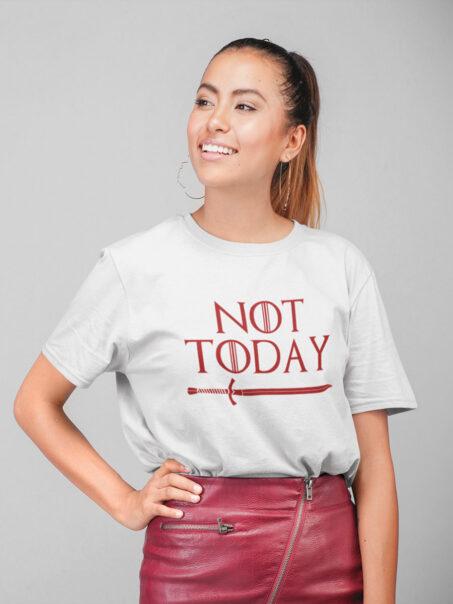 camiseta not today Juego de tronos