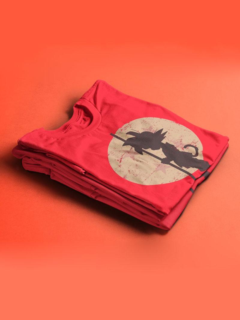 Camiseta Son Goku Dragon Ball