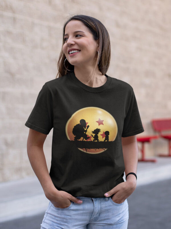 camiseta son goku niño