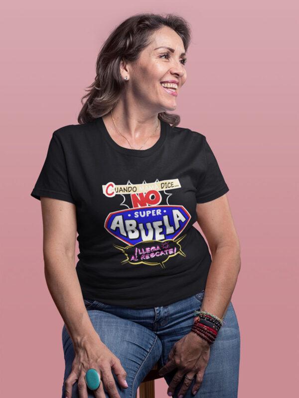 Camiseta Día de la madre super abuela