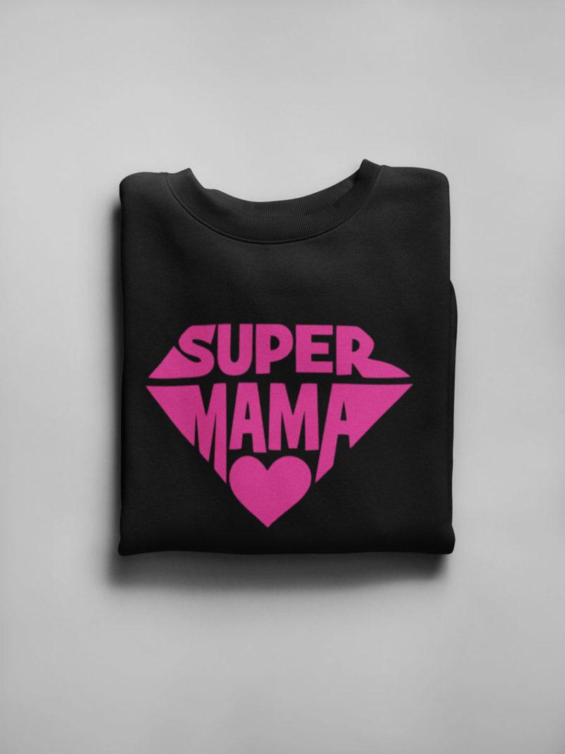 Camiseta Día de la madre mi super mamá