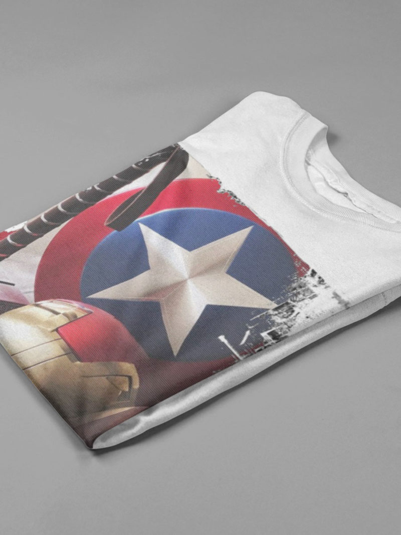 camiseta vengadores