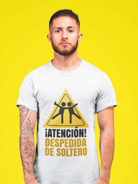camiseta atencion despedida de soltero