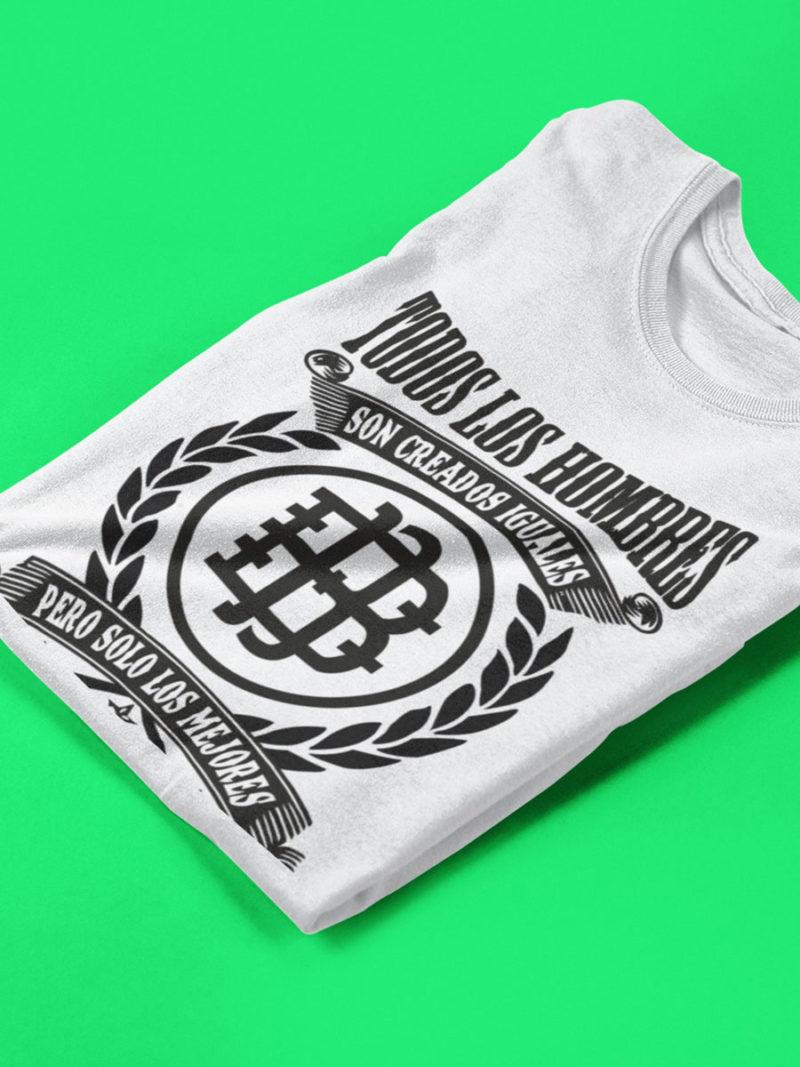 Camiseta Betis doblada blanca