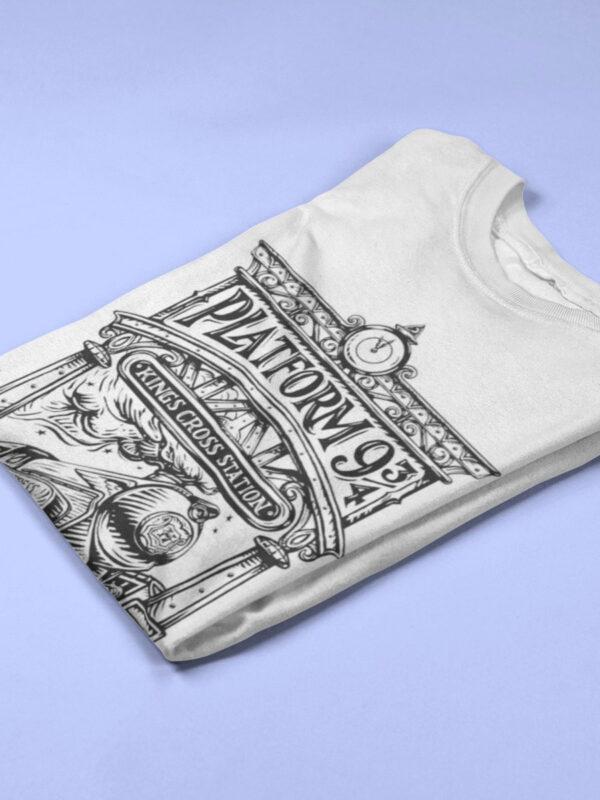 camiseta de anden nueve y tres cuartos