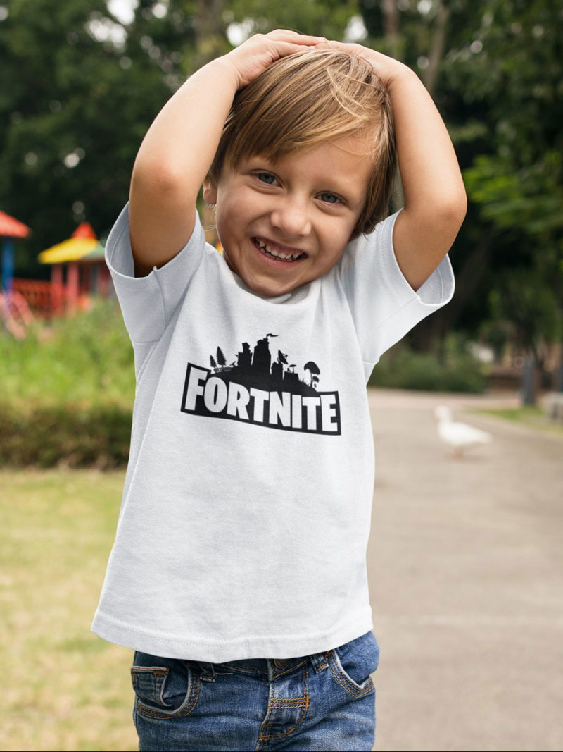 camiseta de fortnite nino