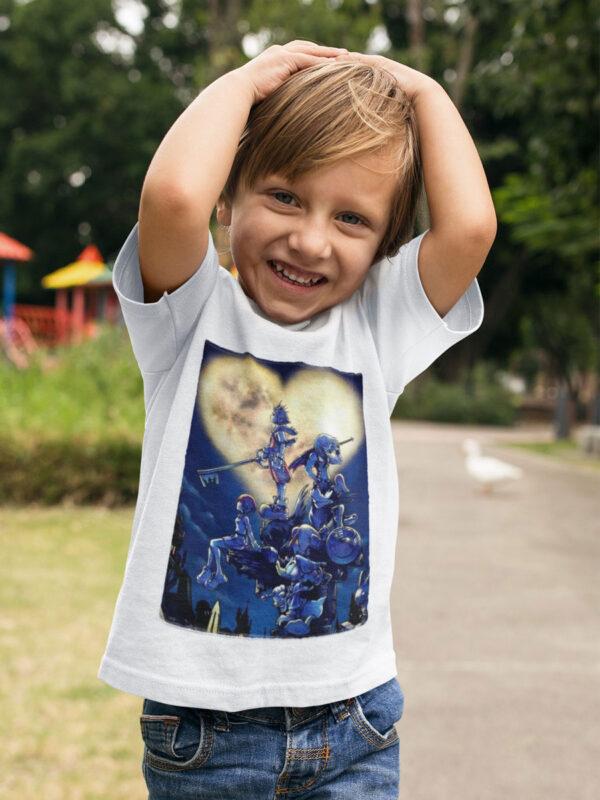 camiseta de kingdom hearts
