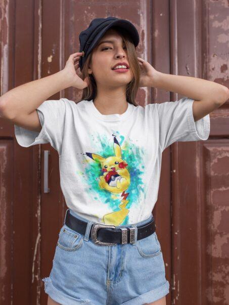 camiseta de pokemon