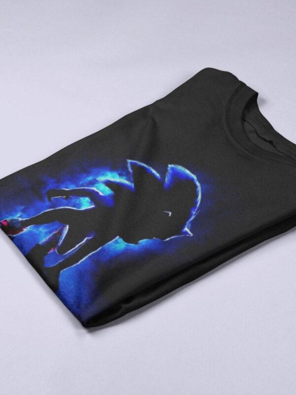 camiseta de sonic pelicula