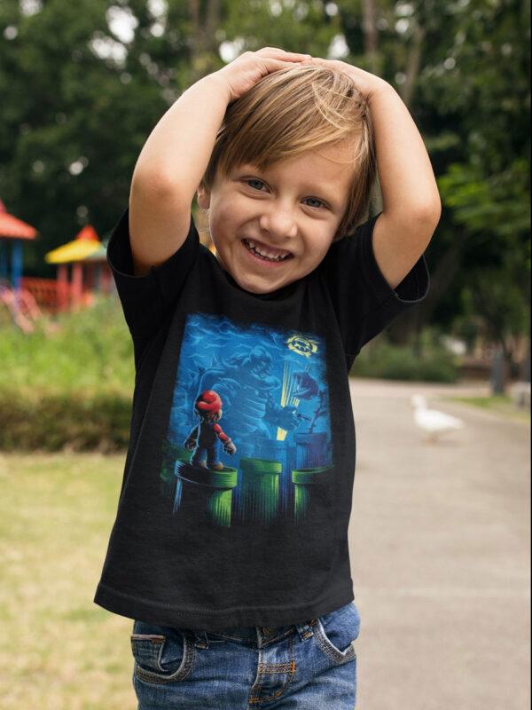 camiseta de super mario bross