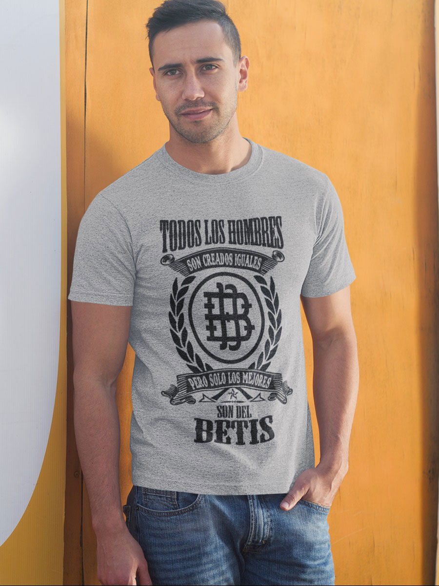 Camiseta del real betis en gris