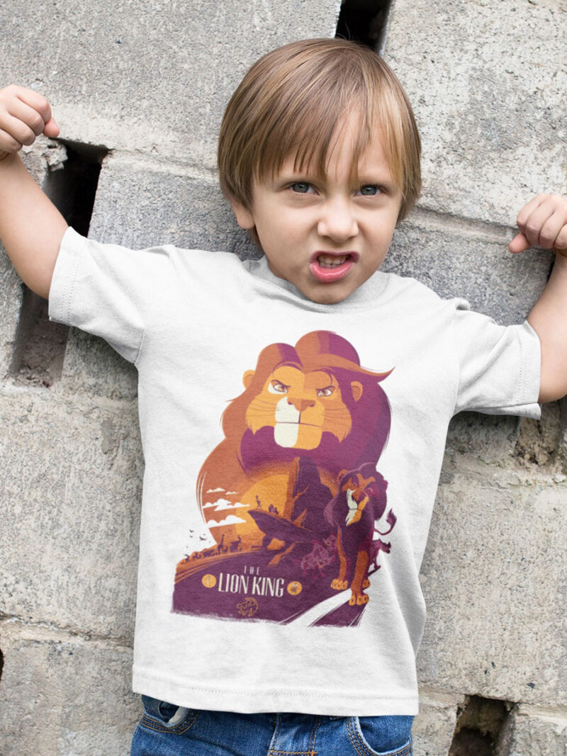 camiseta del rey leon