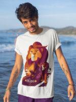 camiseta del rey leon adulto