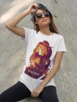 camiseta del rey leon unisex