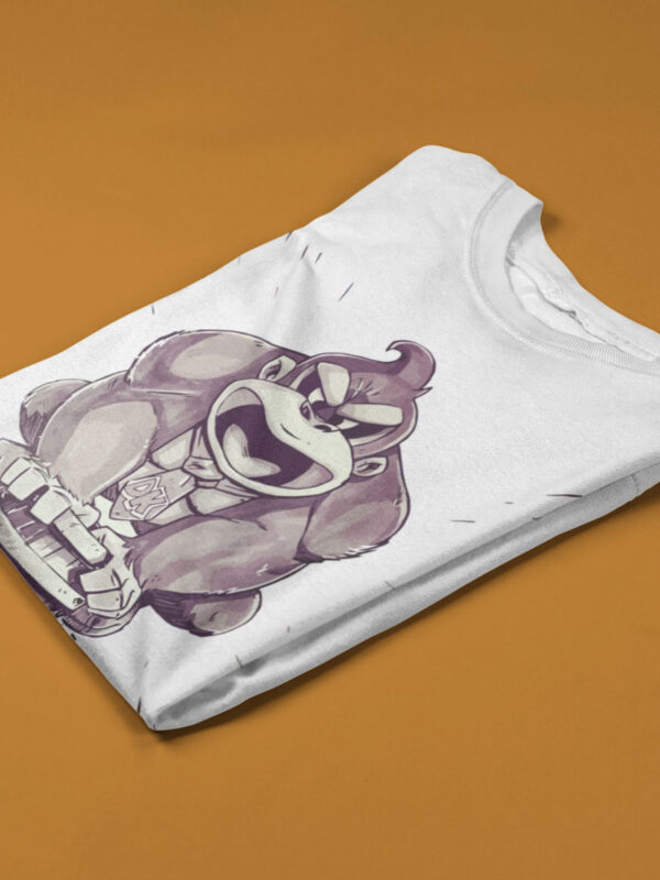 camiseta donkey kong blanca