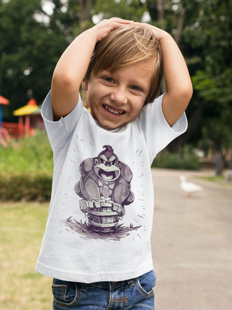 camiseta donkey kong nino