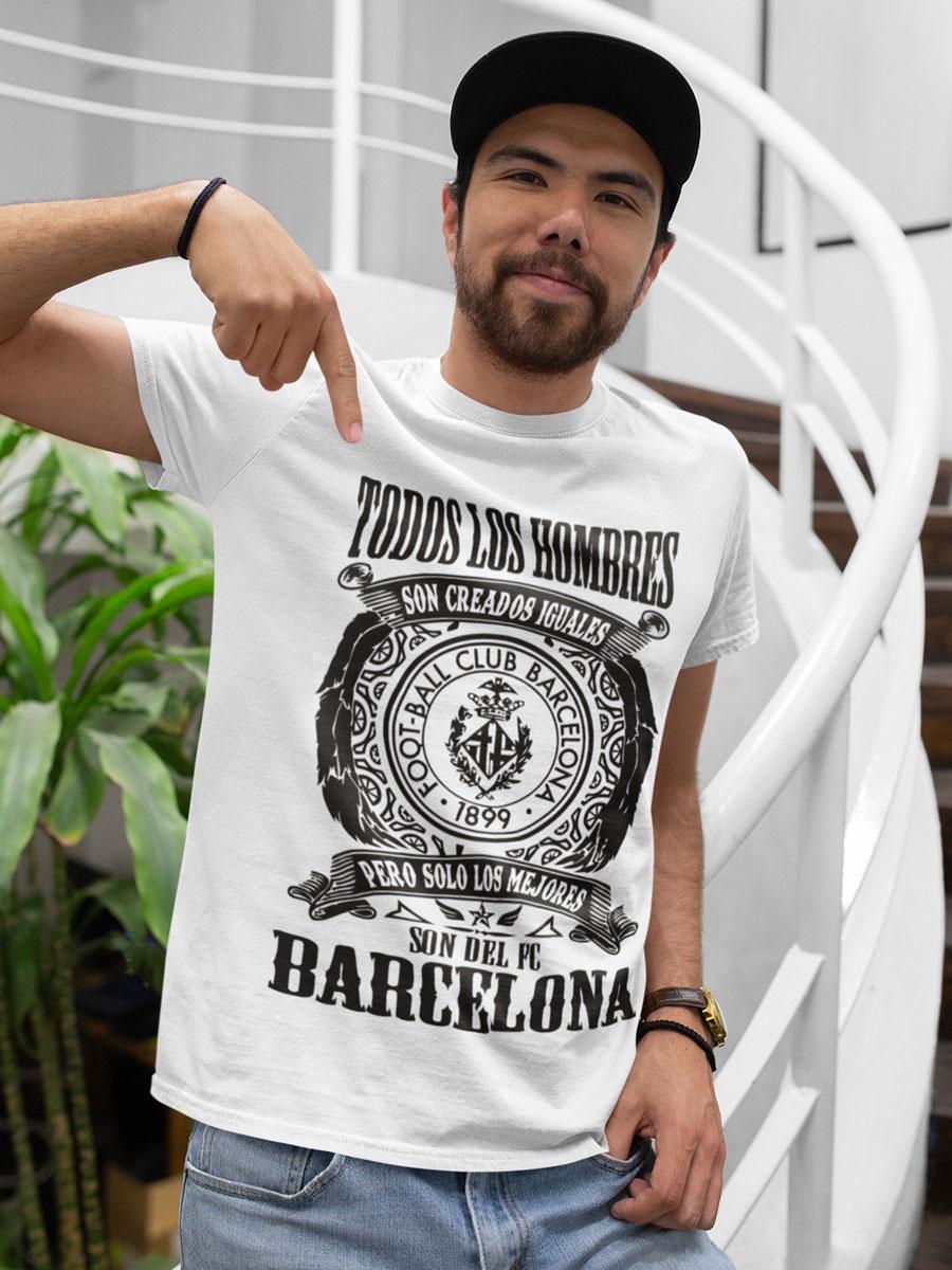 Camiseta fc Barcelona blanca
